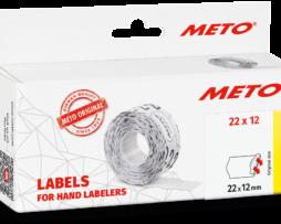 Etiketten voor Meto